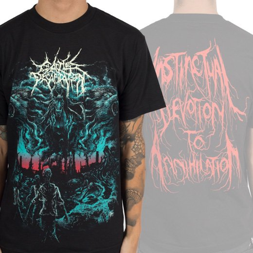 Cattle Decapitation / キャトル・ディキャピテイション - Manufactured Extinction. Tシャツ【お取寄せ】