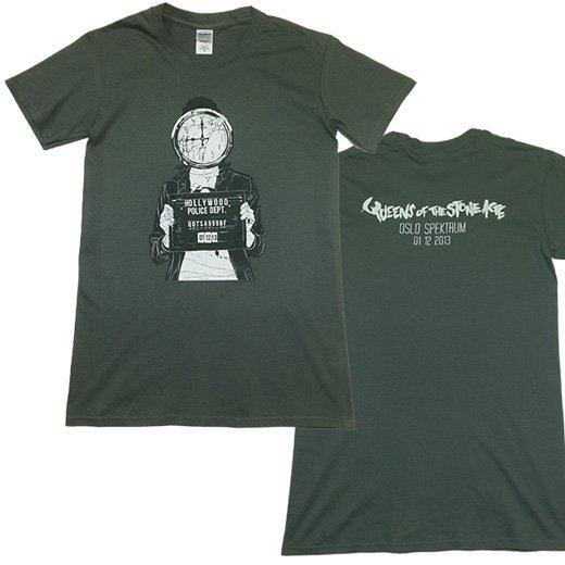 【即納商品】Queen Of The Stone Age / クイーンズ・オブ・ザ・ストーン・エイジ - Mugshot. Tシャツ(Sサイズ)