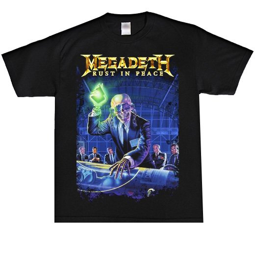 Megadeth / メガデス - Rust In Peace. Tシャツ【お取寄せ】