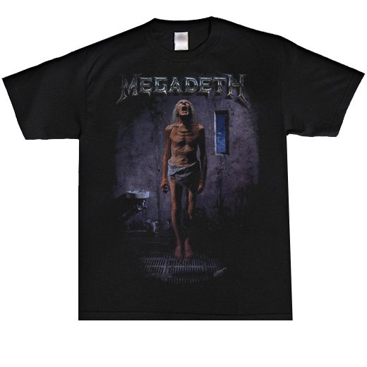 Megadeth / メガデス - Countdown To Extinction. Tシャツ【お取寄せ】