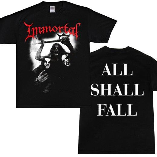 Immortal / イモータル - Band Photo. Tシャツ【お取寄せ】