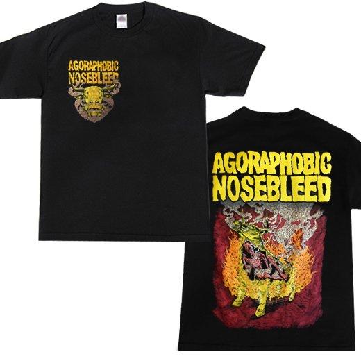【即納商品】Agoraphobic Nosebleed / アゴラフォビック・ノーズブリード - Brazen Bull. Tシャツ(XLサイズ)