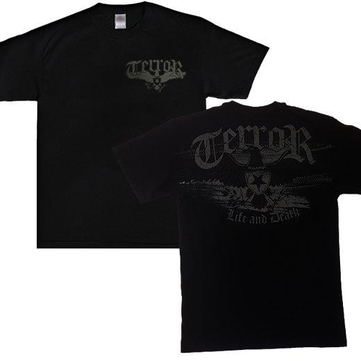 【即納商品】Terror / テラー - Life And Death. Tシャツ(Mサイズ)