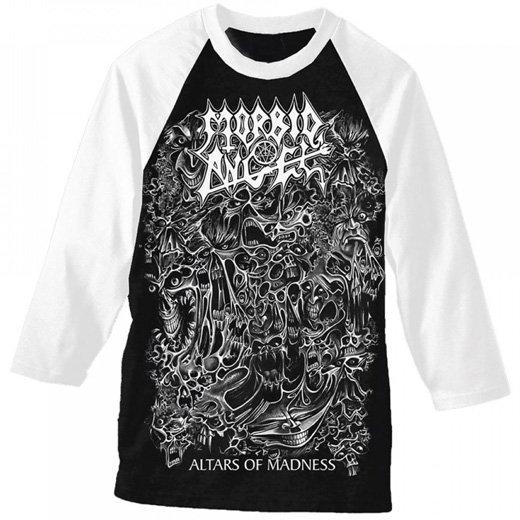Morbid Angel / モービッド・エンジェル - Altars Of Madness. ベースボールシャツ【お取寄せ】