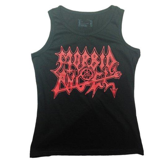 【即納商品】Morbid Angel / モービッド・エンジェル - Logo. レディースタンクトップ(Lサイズ)