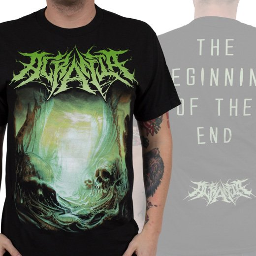 Acrania / アクラニア - The Beginning of the End. Tシャツ【お取寄せ】