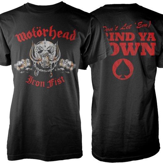 Motorhead / モーターヘッド - Iron Fist. Tシャツ【お取寄せ】