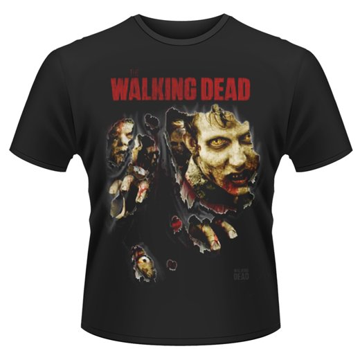 <img class='new_mark_img1' src='https://img.shop-pro.jp/img/new/icons1.gif' style='border:none;display:inline;margin:0px;padding:0px;width:auto;' />The Walking Dead / ウォーキング・デッド - Zombies Ripped. Tシャツ【お取寄せ】