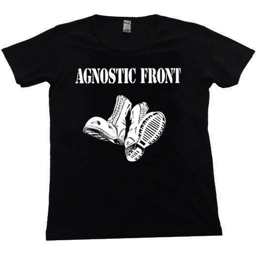 Agnostic Front / アグノスティック・フロント - Boots. レディースTシャツ【お取寄せ】