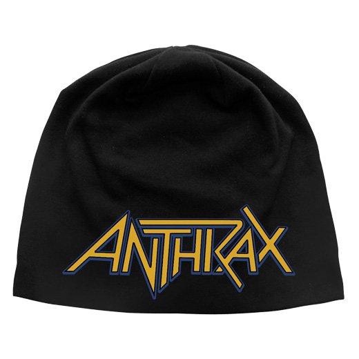 Anthrax / アンスラックス - Logo. ライトニットキャップ【お取寄せ】