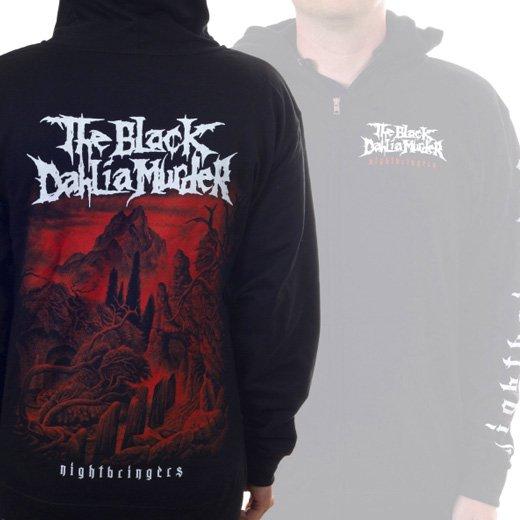 The Black Dahlia Murder / ザ・ブラック・ダリア・マーダー - Nightbringers. ジップアップパーカー【お取寄せ】