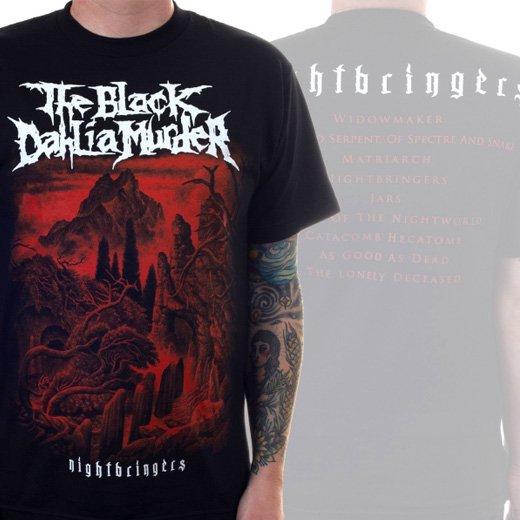 The Black Dahlia Murder / ザ・ブラック・ダリア・マーダー - Nightbringers. Tシャツ【お取寄せ】