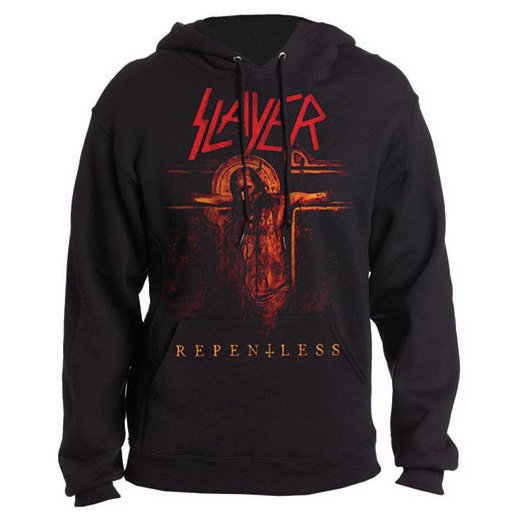 <img class='new_mark_img1' src='https://img.shop-pro.jp/img/new/icons1.gif' style='border:none;display:inline;margin:0px;padding:0px;width:auto;' />Slayer / スレイヤー - Repentless Crucifix. パーカー【お取寄せ】