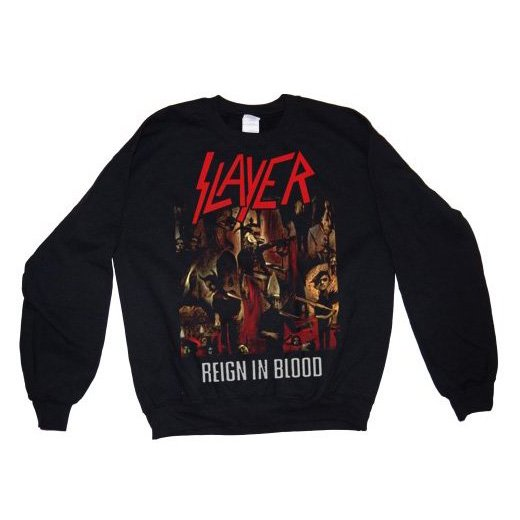 <img class='new_mark_img1' src='//img.shop-pro.jp/img/new/icons1.gif' style='border:none;display:inline;margin:0px;padding:0px;width:auto;' />Slayer / スレイヤー - Reign In Blood. トレーナー【お取寄せ】