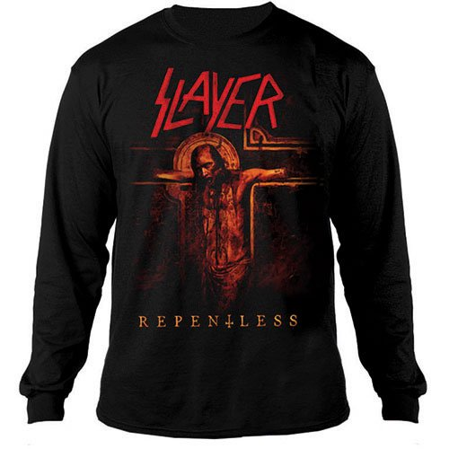 <img class='new_mark_img1' src='//img.shop-pro.jp/img/new/icons1.gif' style='border:none;display:inline;margin:0px;padding:0px;width:auto;' />Slayer / スレイヤー - Repentless Crucifix. ロングスリーブTシャツ【お取寄せ】