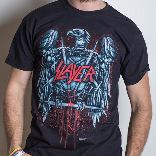 <img class='new_mark_img1' src='https://img.shop-pro.jp/img/new/icons1.gif' style='border:none;display:inline;margin:0px;padding:0px;width:auto;' />Slayer / スレイヤー - Ammunition. Tシャツ【お取寄せ】