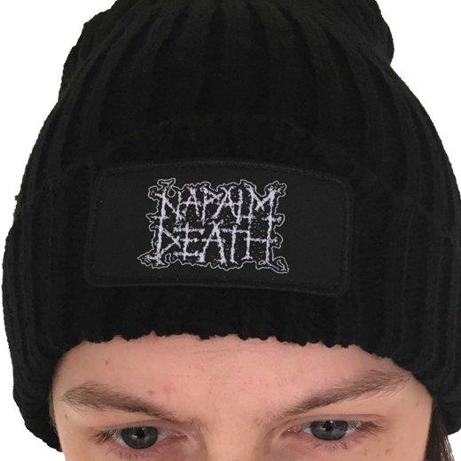 Napalm Death / ナパーム・デス - Logo. ニットキャップ【お取寄せ】