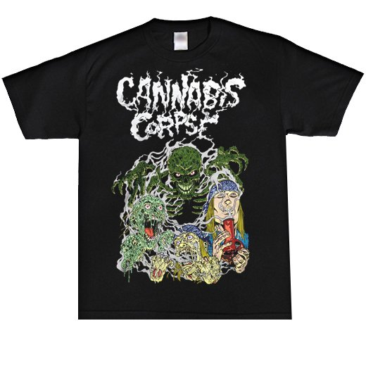 Cannabis Corpse / カンナビス・コープズ - Ghost Ripper. Tシャツ【お取寄せ】