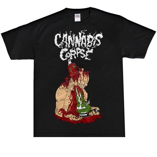 Cannabis Corpse / カンナビス・コープズ - Death Bong. Tシャツ【お取寄せ】
