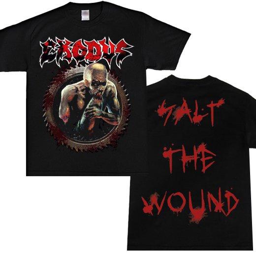 Exodus / エクソダス - Salt The Wound. Tシャツ【お取寄せ】