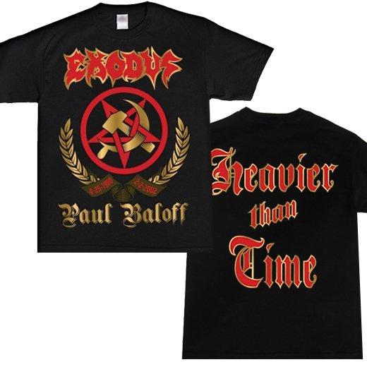 Exodus / エクソダス - Paul Baloff Tribute. Tシャツ【お取寄せ】