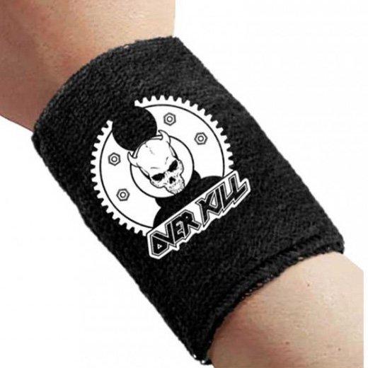Overkill / オーヴァーキル - Gear Skull. リストバンド【お取寄せ】