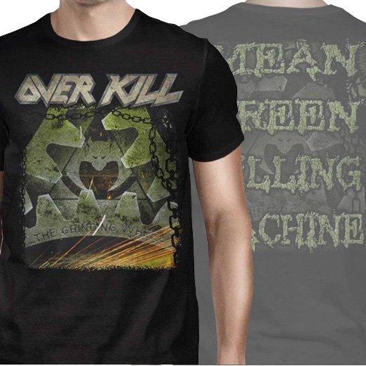 Overkill / オーヴァーキル - Mean Green Killing Machine. Tシャツ【お取寄せ】