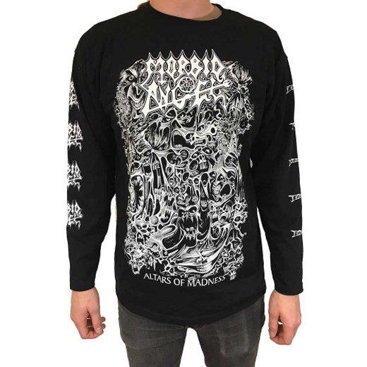 【即納商品】Morbid Angel / モービッド・エンジェル - Altars Of Madness. ロングスリーブTシャツ(XLサイズ)