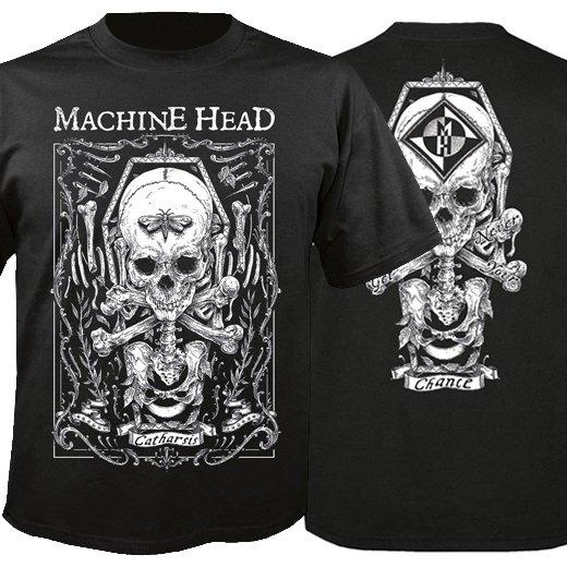 Machine Head / マシーン・ヘッド - Moth. Tシャツ【お取寄せ】