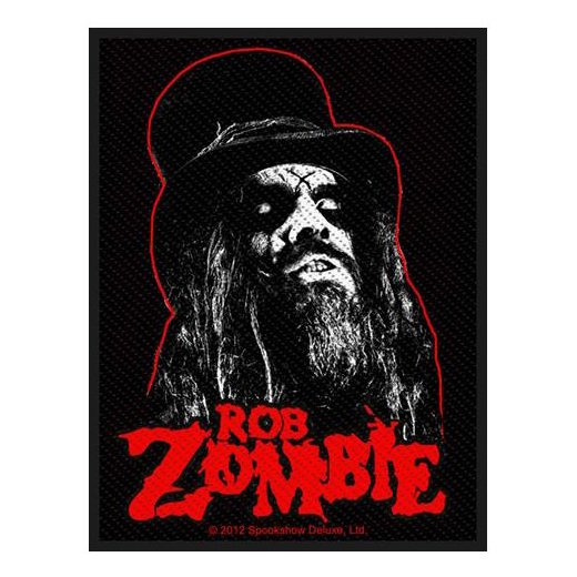 <img class='new_mark_img1' src='https://img.shop-pro.jp/img/new/icons1.gif' style='border:none;display:inline;margin:0px;padding:0px;width:auto;' />Rob Zombie / ロブ・ゾンビ - Portrait. パッチ【お取寄せ】