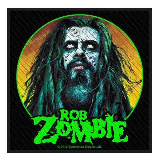 <img class='new_mark_img1' src='https://img.shop-pro.jp/img/new/icons1.gif' style='border:none;display:inline;margin:0px;padding:0px;width:auto;' />Rob Zombie / ロブ・ゾンビ - Zombie Face. パッチ【お取寄せ】
