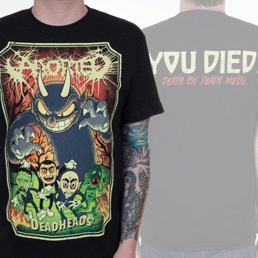 Aborted / アボーテッド - Deadheads. Tシャツ【お取寄せ】