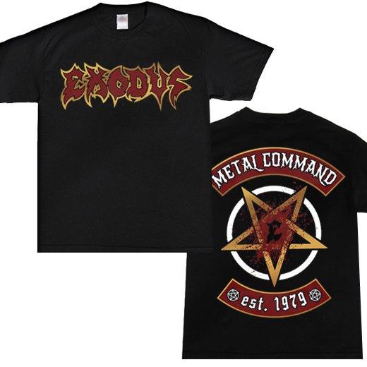 Exodus / エクソダス - Metal Command. Tシャツ【お取寄せ】