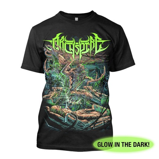 Archspire /  アークスパイア - Lab Monsters Glow. Tシャツ【お取寄せ】