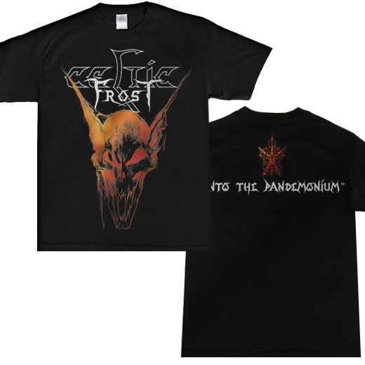 <img class='new_mark_img1' src='https://img.shop-pro.jp/img/new/icons1.gif' style='border:none;display:inline;margin:0px;padding:0px;width:auto;' />Celtic Frost / セルティック・フロスト - Into The Pandemonium. Tシャツ【お取寄せ】