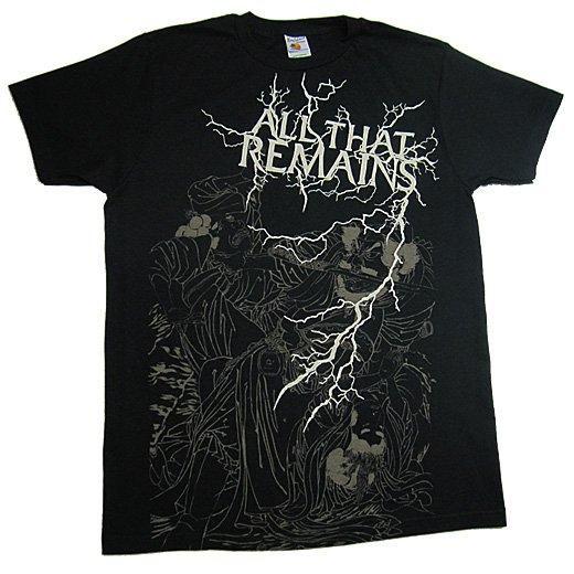【即納商品】All That Remains / オール・ザット・リメインズ - Lightning Chong. Tシャツ(Mサイズ)