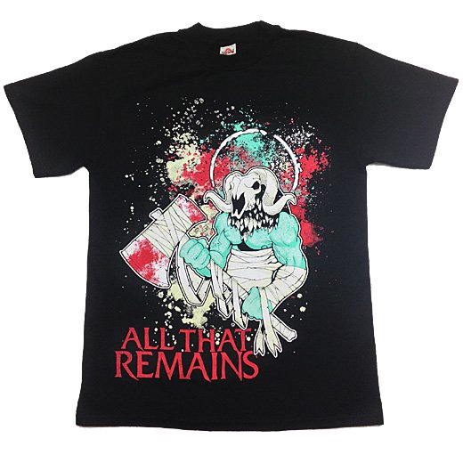 【即納商品】All That Remains / オール・ザット・リメインズ - Head Hunter. Tシャツ(Mサイズ)