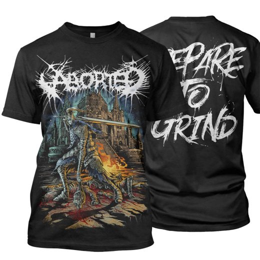 Aborted / アボーテッド - Prepare To Grind. Tシャツ【お取寄せ】