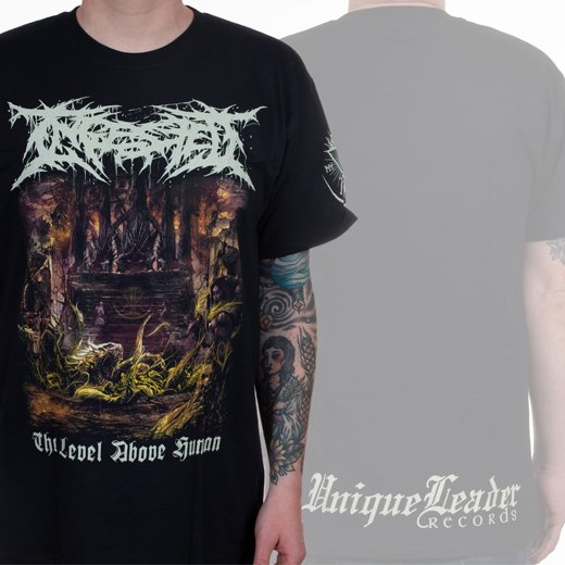 Ingested / インジェステッド - The Level Above Human. Tシャツ【お取寄せ】