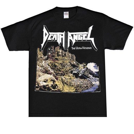 【即納商品】Death Angel / デス・エンジェル - The Ultra Violence (Black). Tシャツ(Lサイズ)