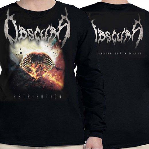 Obscura / オブスキュラ - Retribution. ロングスリーブTシャツ【お取寄せ】