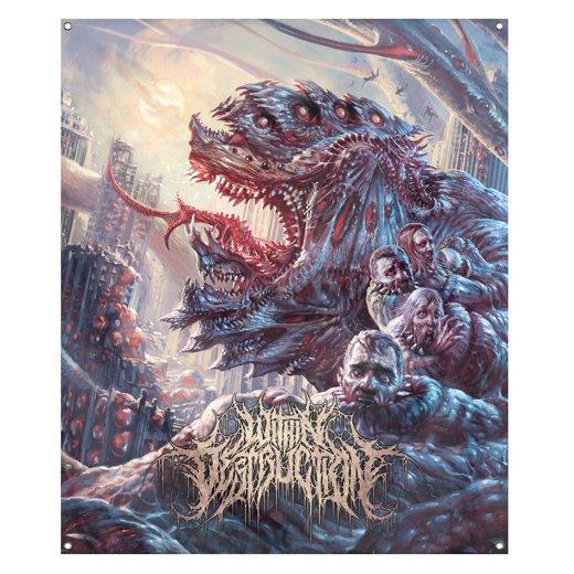Within Destruction / ウィズイン・デストラクション - Deathwish. フラッグ【お取寄せ】