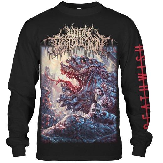 Within Destruction / ウィズイン・デストラクション - Deathwish. ロングスリーブTシャツ【お取寄せ】
