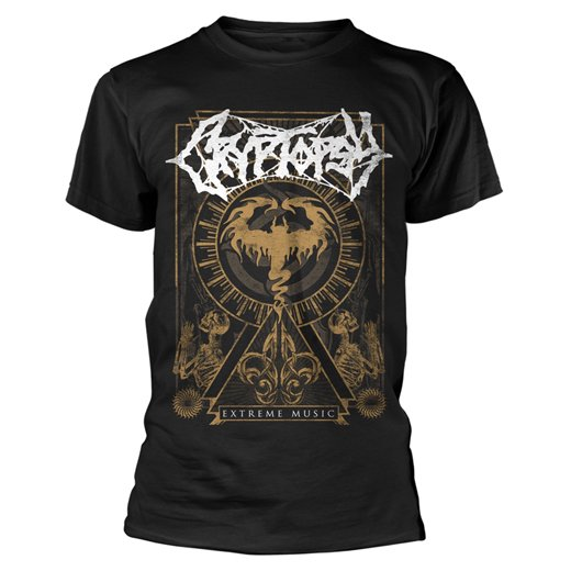 Cryptopsy / クリプトプシー - Extreme Music. Tシャツ【お取寄せ】