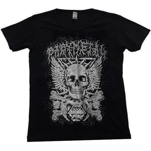 BABYMETAL / ベビーメタル - Crossbone. レディースTシャツ【お取寄せ】