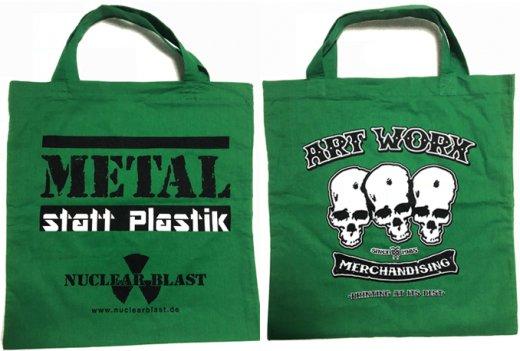 【無料プレゼント】Nuclear Blast / ニュークリア・ブラスト - Metal statt Plastik. トートバッグ