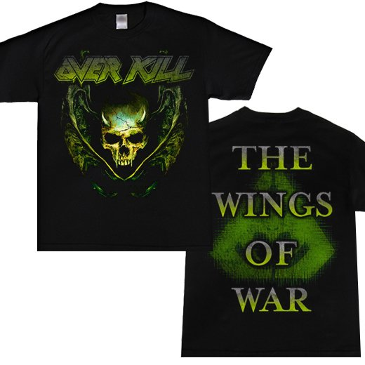 Overkill / オーヴァーキル - The Wings Of War. Tシャツ【お取寄せ】