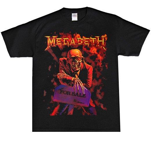 【即納商品】Megadeth / メガデス - Peace Sells. Tシャツ(Mサイズ)