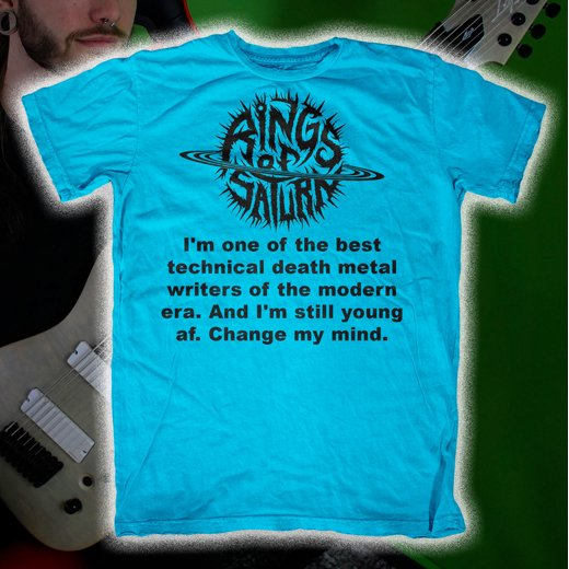 Rings Of Saturn / リングス・オブ・サターン - Best Tech Death. Tシャツ【お取寄せ】