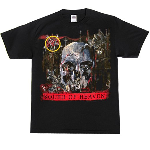 【即納商品】Slayer / スレイヤー - South Of Heaven. Tシャツ (Lサイズ )